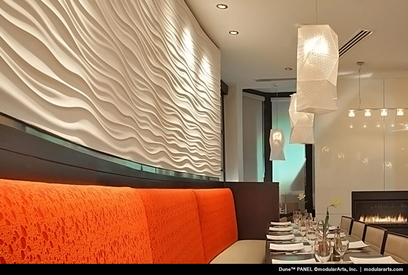 Dune Wave Wall Panel Panels